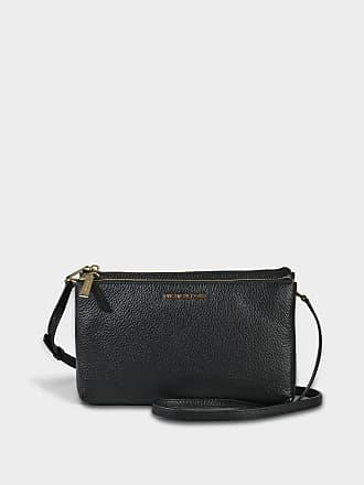 39a17e89ebd9 Michael Michael Kors Double Zip Crossbody Bag in Black Pebble Leather