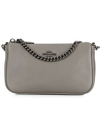 Coach chain-embellished clutch - Grey