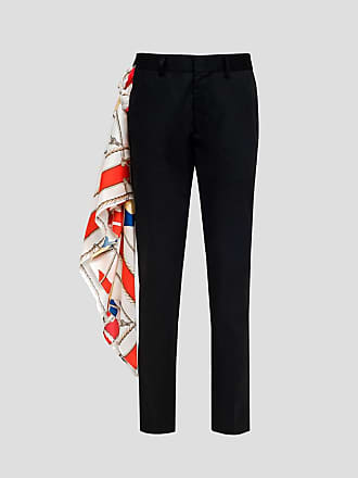 Msgm trousers with foulard detail