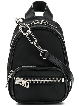 Alexander Wang mini zipped backpack - Preto