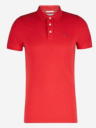 Tommy Hilfiger Polo en coton piqué slim fit Ligne Tommy Jeans Rouge Tommy  Hilfiger 0e27133c8d59