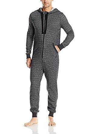 2(x)ist Mens Flight Suit, Black Heather, Large