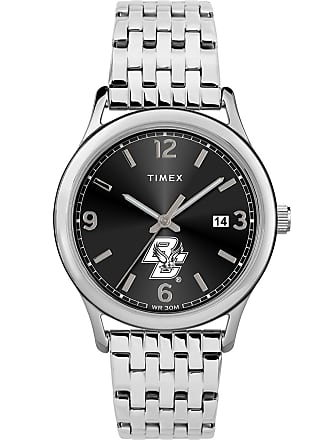 Timex Timex Watch Womens Sage Boston College Eagles Silver-Tone/stainless Steel/black Item Twzuboswcyz