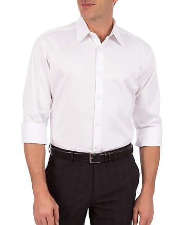 Colombo Camisa Social Masculina Branca Lisa 44074 Colombo