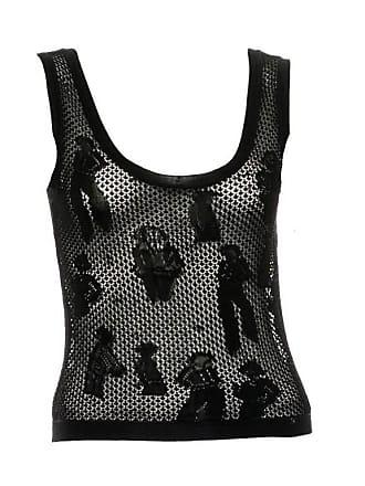 9adfcd2615e15 Chanel Black Crochet Knit Coco Chanel Top