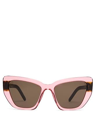 012b8244e53a Prada Winged Cat Eye Acetate Sunglasses - Womens - Pink