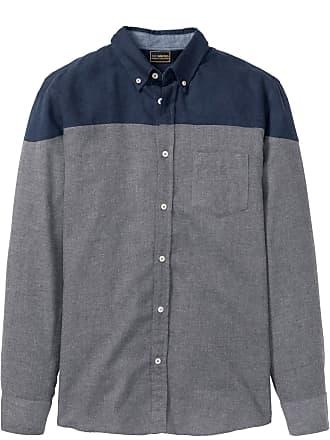 036c65e3f0 Bonprix Camicia a manica lunga slim fit (Grigio) - bpc selection
