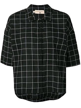 Cotélac check shirt - Black