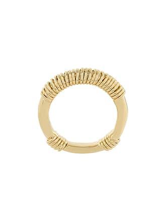 Aurélie Bidermann Anel Alhambra banhado a ouro 18K - Metálico
