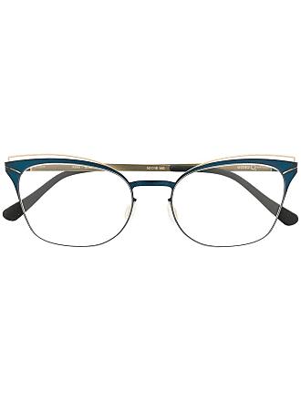 Etnia Barcelona Armação de óculos gatinho Kemi - Azul