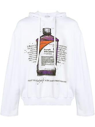 Ih Nom Uh Nit Moletom com estampa Cough Syrup Bottle - Branco