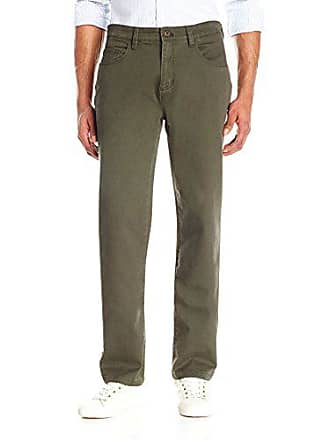 Goodthreads Mens Athletic-Fit 5-Pocket Chino Pant, Olive, 42W x 28L