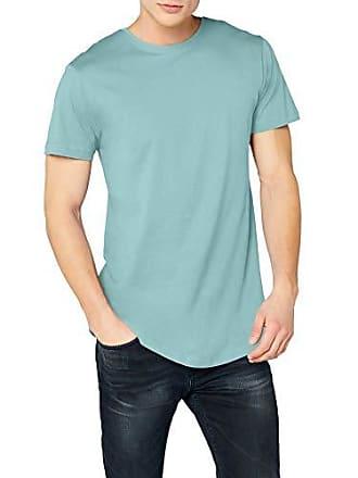 Urban Classics Urban Classic Shaped Long Tee, T-shirt coupe droite Col Ras  Du d1afc0dd7f63