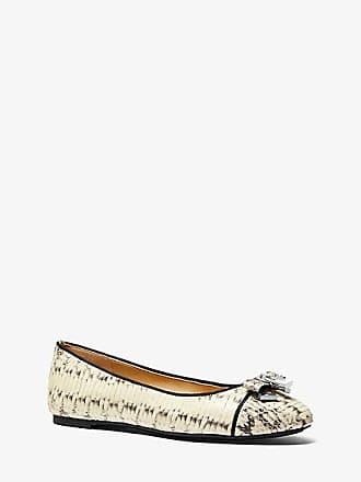 Michael Kors Alice Snakeskin Ballet Flat