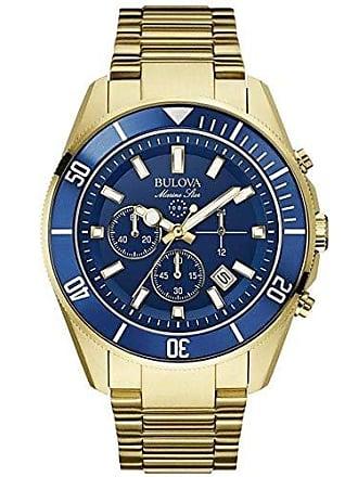 Bulova Relógio Masculino Bulova Marine Star WB31774Z - Dourado