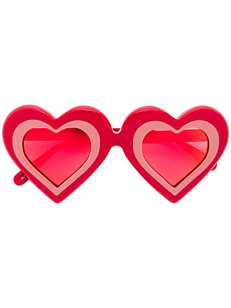 Yazbukey Óculos de sol Heart - Vermelho
