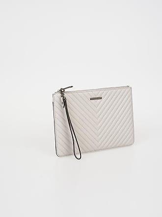 Rebecca Minkoff Leather Wristlet Bag size Unica