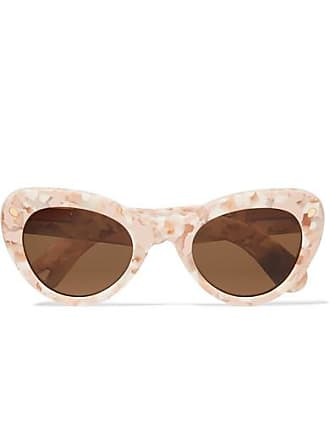 f47b0401fb815 Lucy Folk Wingspan Cat-eye Acetate Sunglasses - Pink