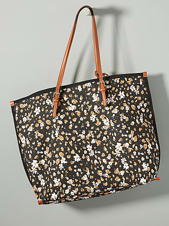 Anthropologie Racquel Canvas Tote