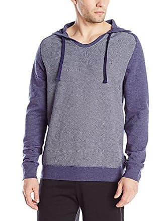 2(x)ist Mens Textured Pullover, Estate Blue, Small