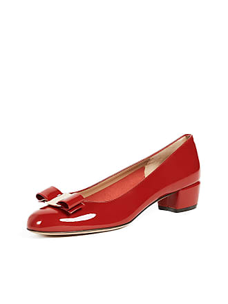 ff7d10e976c Salvatore Ferragamo Vara Low Heel Pumps. In high demand