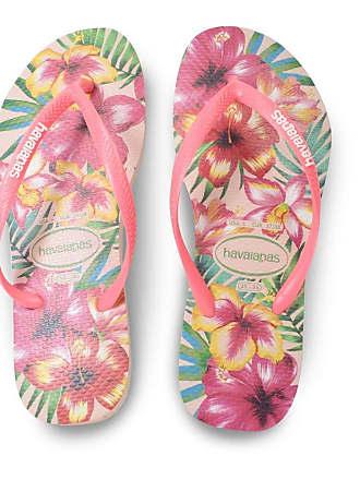 Havaianas Chinelo Havaianas Feminino Slim Floral