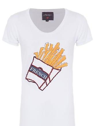 J. Chermann T-shirt Fries J.Chermann - Branco