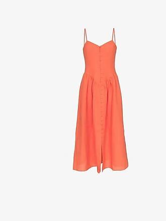 Mara Hoffman Mischa button down hemp dress