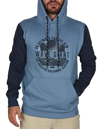 Wave Giant Moletom Wg Go Outward - Azul - M