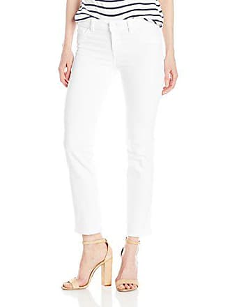 DL1961 Womens Mara Ankle Straight Jeans, Milk, 27