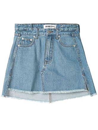 Ground-Zero denim mini skirt - Azul