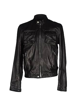 44f85ae78cba Vestes En Cuir pour Hommes Dsquared2®   Shoppez-les jusqu à −70 ...