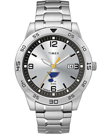 Timex Timex Watch Mens Citation Saint Louis Blues Silver-Tone/silver-Tone/silver-Tone Item Twzhblumlyz