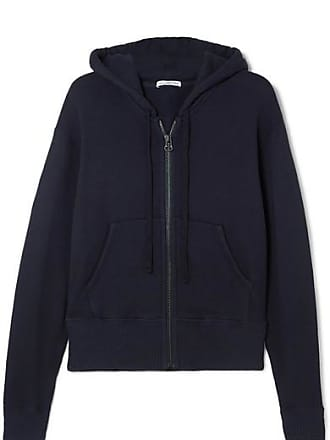 James Perse Cotton-blend Hoodie - Navy