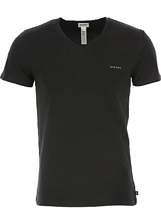 e078f0756974c5 Diesel T-Shirt Uomo On Sale, Nero, Cotone, 2017, L M