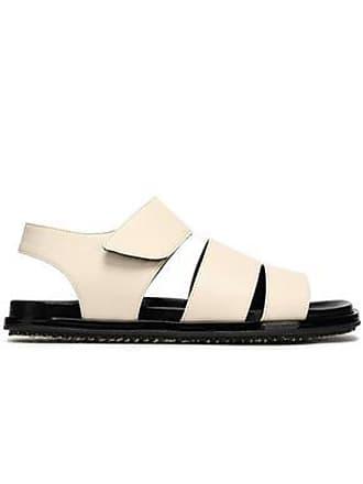 893aa70fa9a Marni Marni Woman Leather Sandals Ivory Size 36