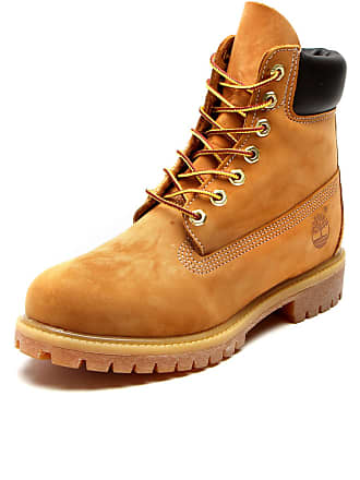 Timberland Bota Couro Timberland Yellow Boot 6in Premium Boot WP Caramelo