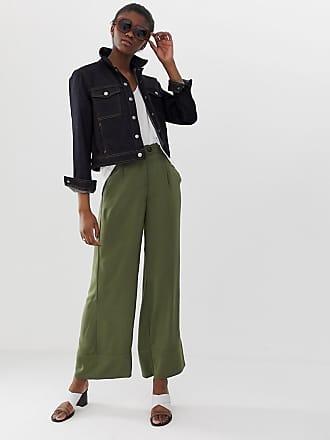 Vero Moda wide leg pants - Green