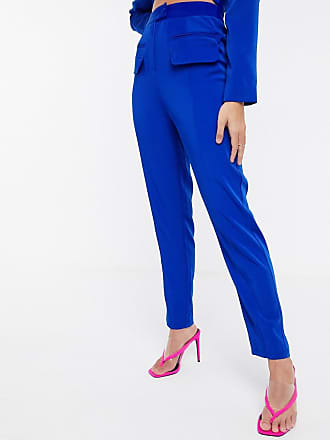 4th & Reckless exclusive tailored trouser in cobalt-Blue