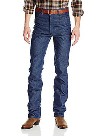 Wrangler Mens Big and Tall Cowboy Cut Slim Fit Jean, Rich Indigo, 28W x 38L
