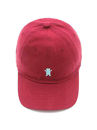 Grizzly Boné Grizzly Og Bear Logo Dad Hat Color Vermelho