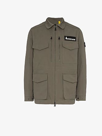Moncler 7 Moncler Fragment feather down military jacket