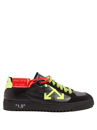 75ab94ff8ab21 Off-white Off-white - Vulcanised Low Top Suede Panel Trainers - Mens -