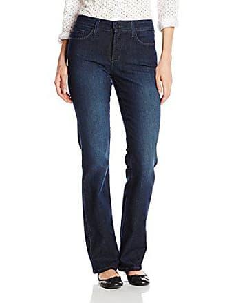 NYDJ Womens Barbara Bootcut Jeans, BURBANK WASH, 14