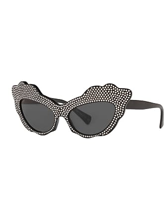 eafb9cc03b6b3 Alain Mikli Aureta Scalloped Cat-Eye Swarovski Crystal Sunglasses