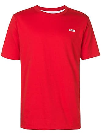 032c reversible T-shirt - Red