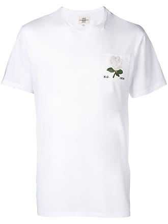 Kent & Curwen Camiseta com patch de rosa - Branco