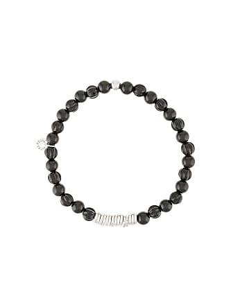 Tateossian beaded bracelet - Preto