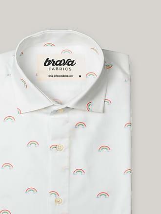 Brava Fabrics Magic Rainbow Printed Short Sleeve Shirt