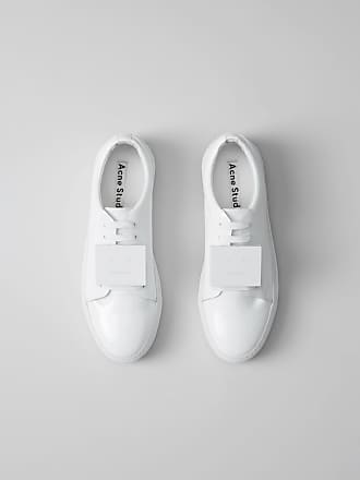Acne Studios Adriana Patent White/White Patent leather sneakers